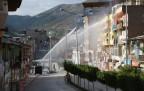 Şemdinli'de Kobanê yürüyüşüne müdahale
