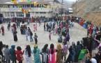 Fotoğraflarla Şemdinli'de kadınlar günü kutlaması