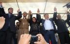 BDP Eş Genel başkanı Demirtaş Şemdinli'de