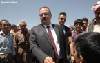 Hewlêr Valisi Şemdinli sınır kapısı ziyaretinde