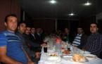 Şemdinli'de Savcı ve Hakimlere Veda Yemeği