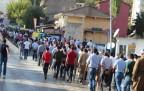 Şemdinli'de Yüzlerce Kişi Kobanê İçin Yürüdü