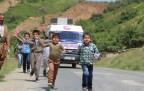 HDP'li Selma Irmak Şemdinli Tekeli Köyünde