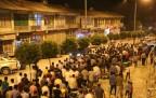 Kobanê'ye saldırılar Şemdinli'de protesto edildi