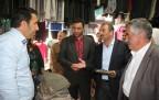 Semdinli Belediye Eşbaşkanlarından esnaf ziyareti