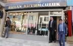 Halk Bankası yetkilileri Şemdinli'de