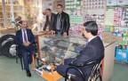 HDP'nin Hakkari adayları Şemdinli esnafını ziyaret