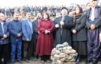 DBP ve HDP heyeti Samanlı köyünde incelemelerde bu