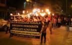 Şemdinli'de Öcalan'a tecrit ve DAİŞ vahşeti kınand