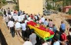 PKK'li Baz (Azat Yiğit) Şemdinli'de defnedildi