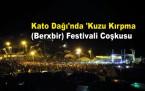 Kato Dağı'nda 'Kuzu Kırpma Festivali'