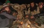 YPG savaşçılarının günlük yaşamı