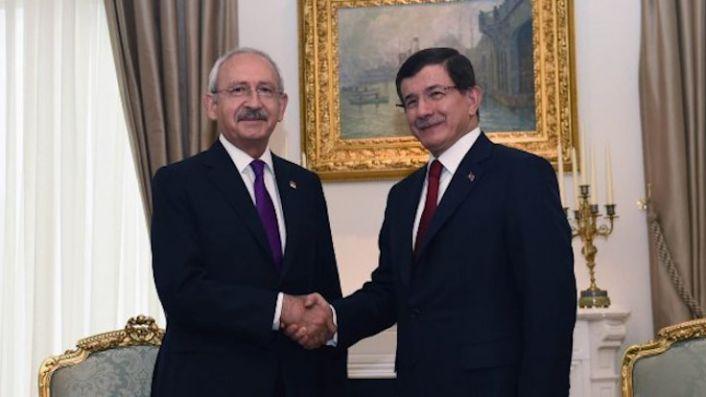 Kemal Kılıçdaroğlu'ndan Ahmet Davutoğlu'na 'hayırlı olsun' ziyareti