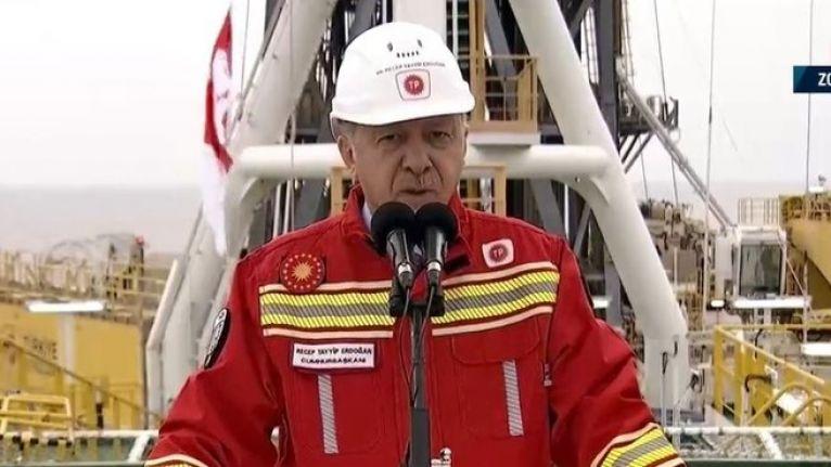 Erdoğan: Rezerve 85 milyar metreküp daha ilave edildi