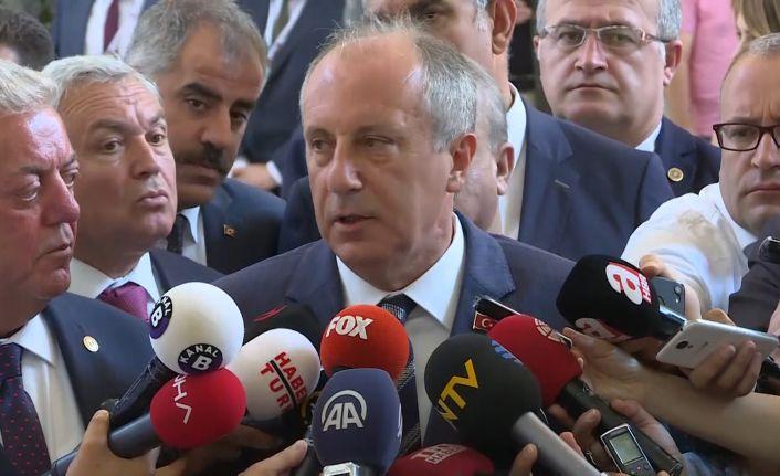 Muharrem İnce'den Kemal Kılıçdaroğlu'na: Destekliyorum