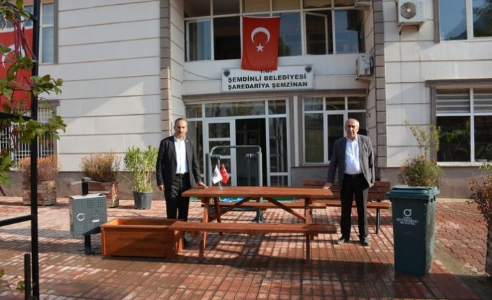 Ordu Büyükşehir Belediyesi'nden Şemdinli Belediyesi'ne malzeme desteği