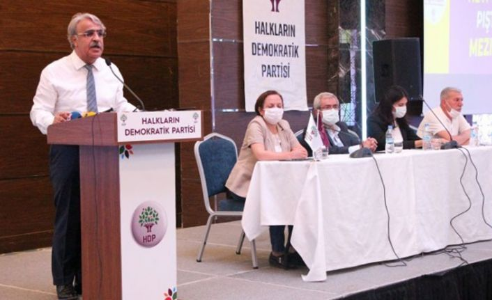 Sancar Diyarbakır'da: Hedefimiz büyük bir barış hareketi kurmaktır