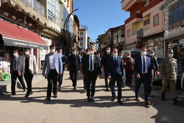 Vali İdris Akbıyık Şemdinli ilçesini ziyaret etti