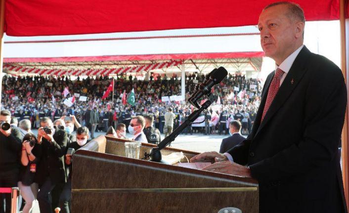 Erdoğan, KKTC'de: Diplomasi oyunlarına artık tahammülümüz yok