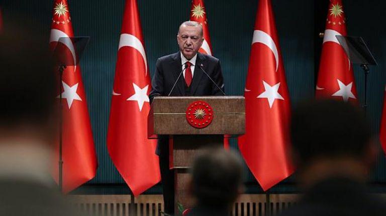 Erdoğan: Restoran, düğün salonu, kuaför ve sinemalar 22.00'de kapanacak
