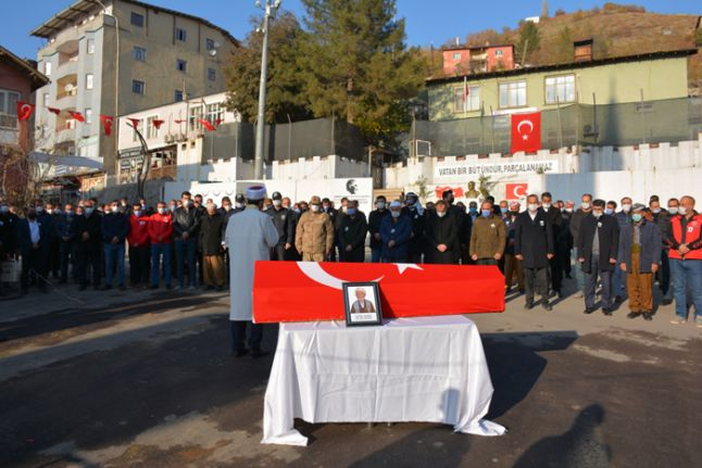 Kore Gazisi Selim Gezer, törenle toprağa verildi