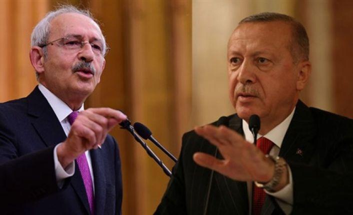 Erdoğan'dan Kılıçdaroğlu'na 500 bin TL'lik dava
