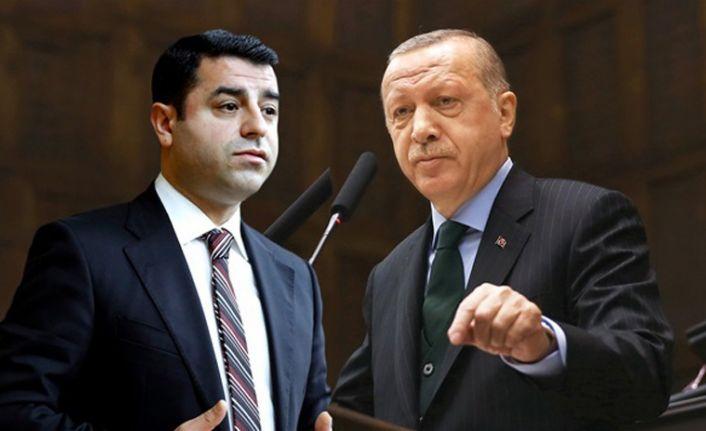 Erdoğan: Demirtaş'ın önünü açacak değiliz