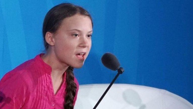 Greta Thunberg'den Kürtçe Noel kutlaması