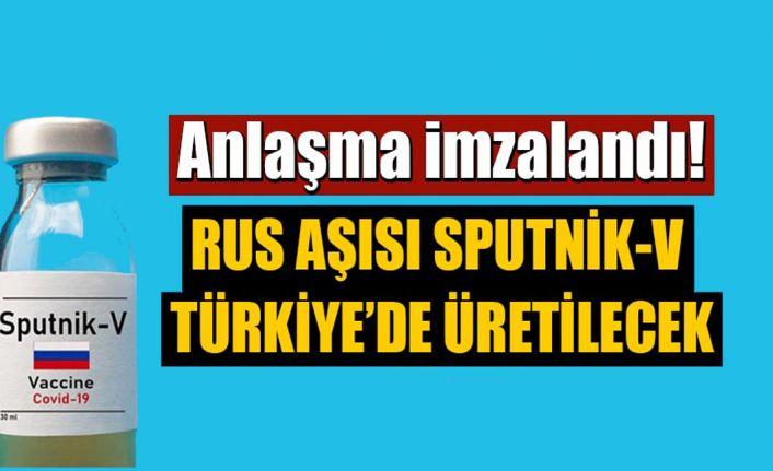 Anlaşma imzalandı: Rus aşısı Sputnik V Türkiye'de üretilecek