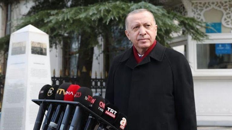Aşı olan Erdoğan: Şu anda herhangi bir yan etki söz konusu değil