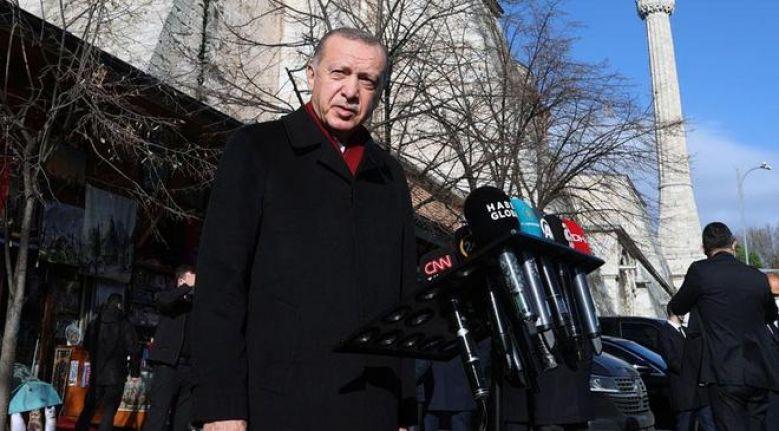Erdoğan'dan CHP'ye 'türban' tepkisi