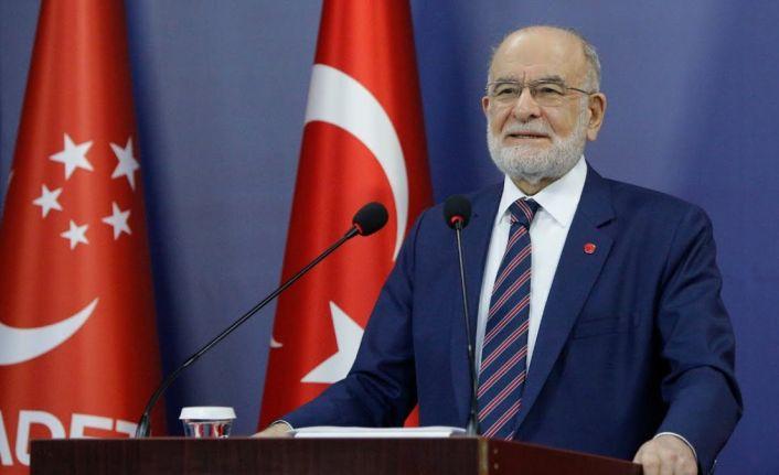 Karamollaoğlu'ndan Erdoğan'a: Sizi incitmek için söylemiyoruz