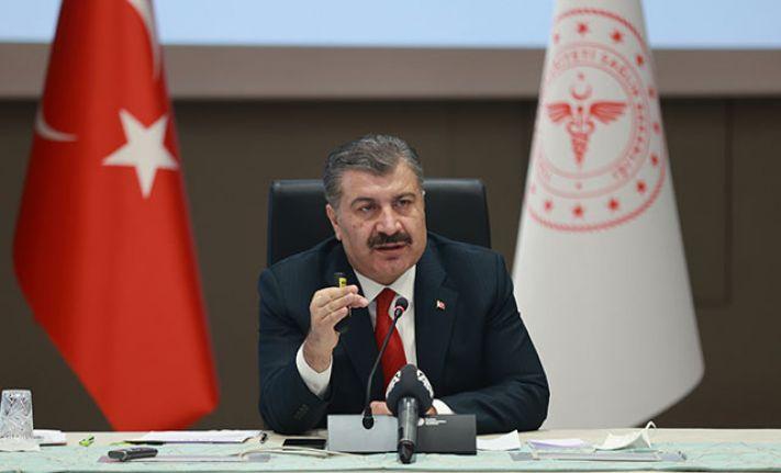 Sağlık Bakanı Fahrettin Koca, koronavirüs ile ilgili son durumu açıkladı