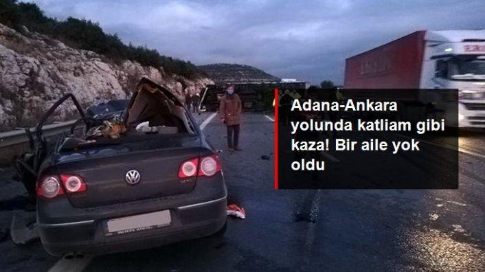 Tarsus'ta Katliam Gibi Kaza: 5 Ölü 2 Yaralı