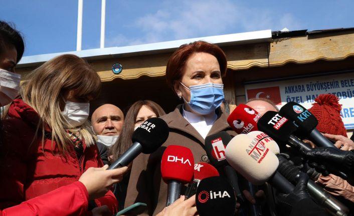 Akşener: Sorumlu Erdoğan'dır, kendisi bunu kabul etmiştir