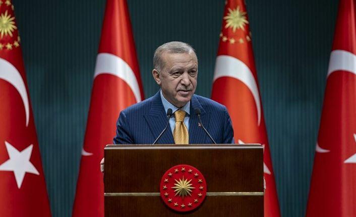Erdoğan: Mart itibariyle normalleşme sürecini başlatıyoruz