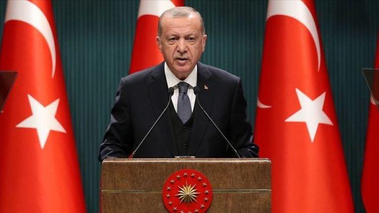 Erdoğan: Türkiye'nin yeni bir anayasayı tartışmasının zamanı gelmiştir