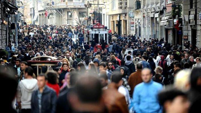 Türkiye'nin nüfusu açıklandı: Bir yılda yarım milyon kişi arttı