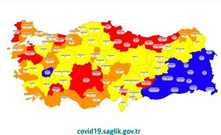 Bakan Fahrettin Koca, illerin risk haritasını açıkladı