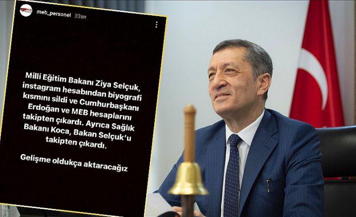 Milli Eğitim Bakanlığı Ziya Selçuk'un istifa ettiği iddiasını yalanladı