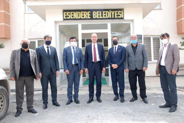 Hakkari'deki Meslek Odaları: Esendere Sınır Kapısının açılmasını istiyoruz