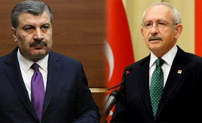 Koca'dan Kılıçdaroğlu'na: Bilim Kurulu'na hakareti asla kabul etmeyiz, saygılı olun