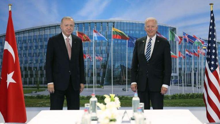 Erdoğan: Biden ile son derece yararlı ve samimi bir görüşme yaptık