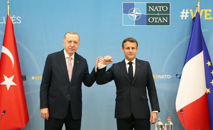 NATO Liderler Zirvesi kapsamında Erdoğan'ın ikili görüşmeleri başladı