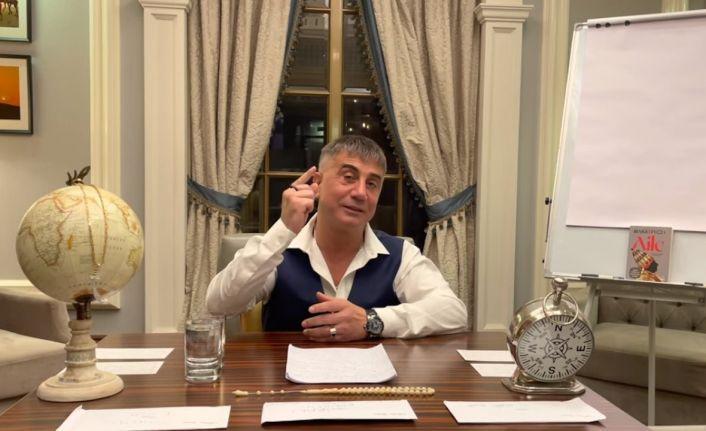 Peker: Yarın, birisiyle yaptığım telefon konuşmamı yayınlayacağım
