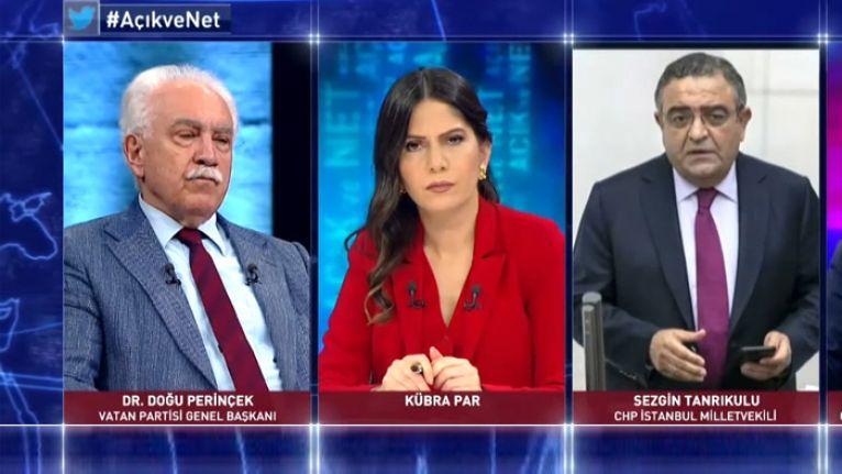 Tanrıkulu: Öcalan'ın değil ama Perinçek'in avukatlığını yaptım, özür dilerim