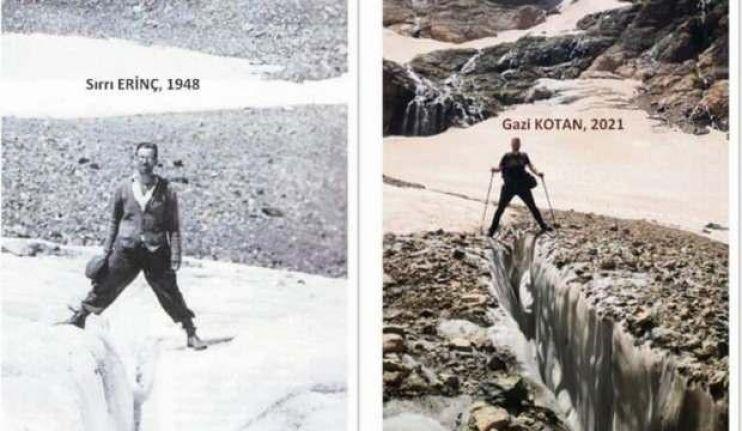Cilo'daki buzullar eriyor: 4 kilometreden 900 metreye