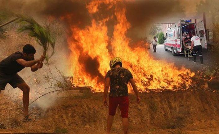 Manavgat'ta yangına müdahale eden iki işçi vefat etti
