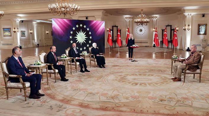 Erdoğan: Taliban'ın itidalli ve ılımlı açıklamalarını memnuniyetle karşılıyoruz
