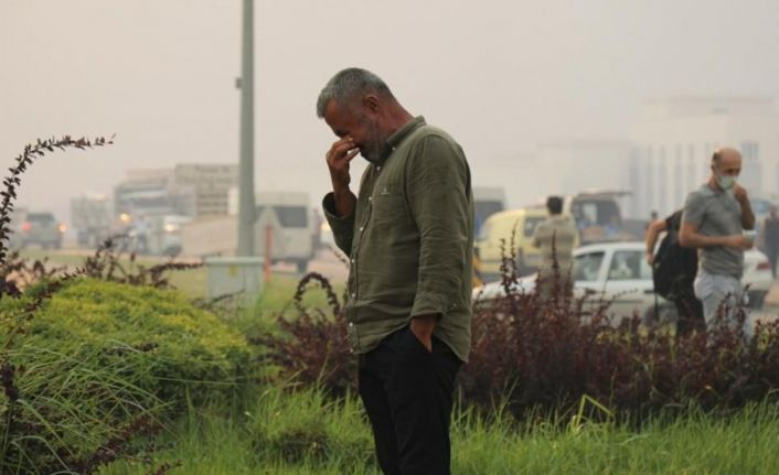 'Evini korudu' denilen Manavgat Belediye Başkanı Şükrü Sözen, yanan evini paylaştı
